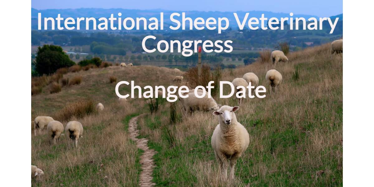 International Sheep Veterinary Congress – Change of Date