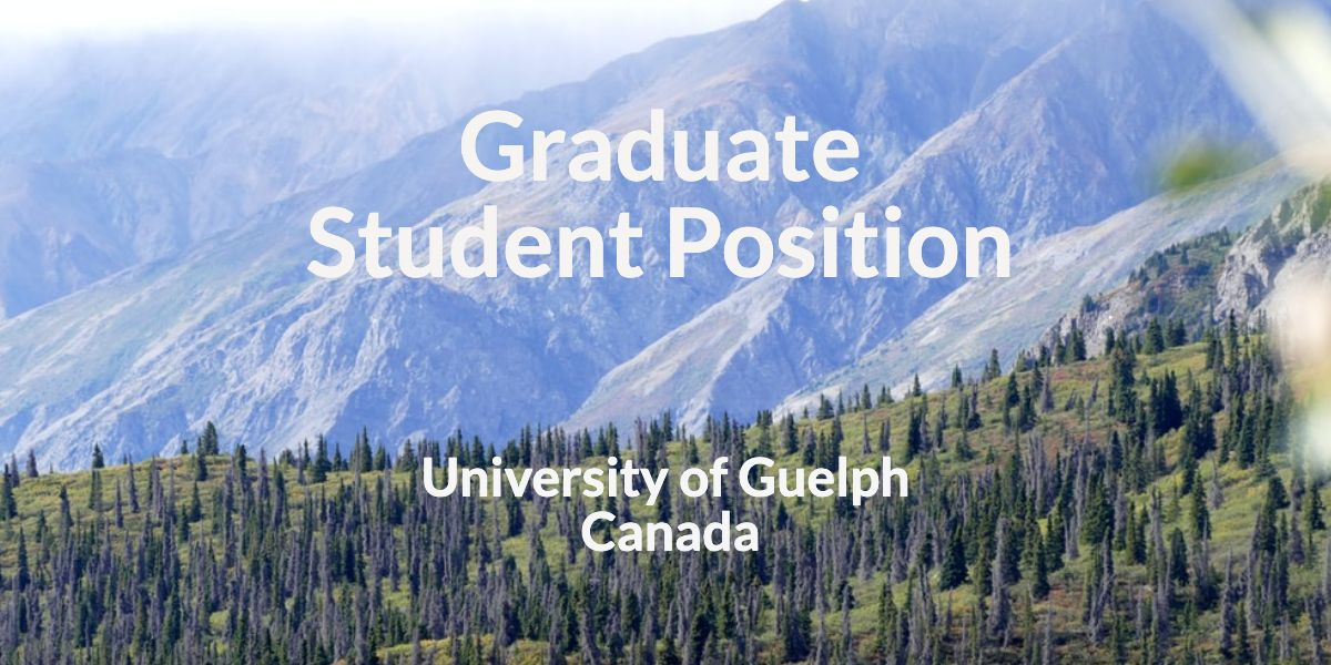 Graduate Student Position – University of Guelph, Canada