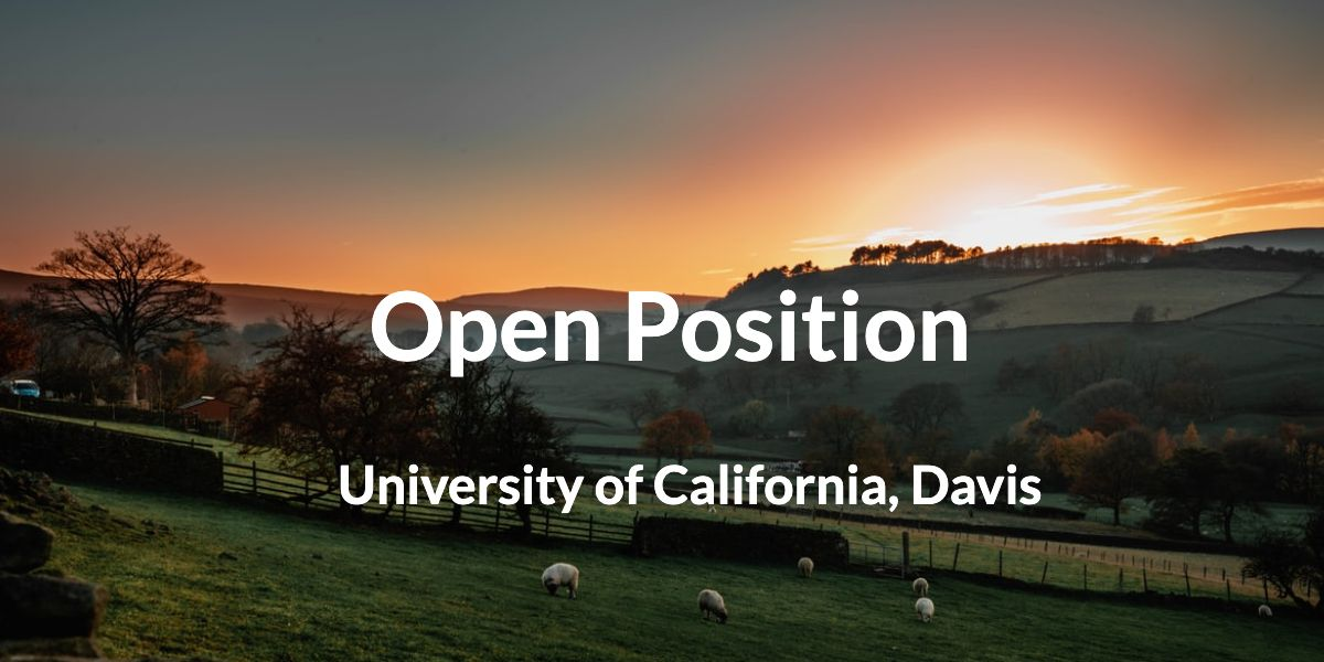 Open position: Assistant/Associate/Full Professor of Livestock Herd Health & Reproduction (with tenure)