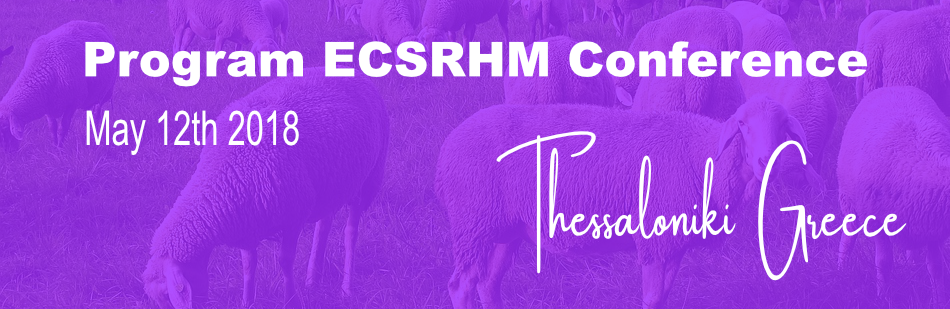 Program Update – 2018 Annual ECSRHM meeting